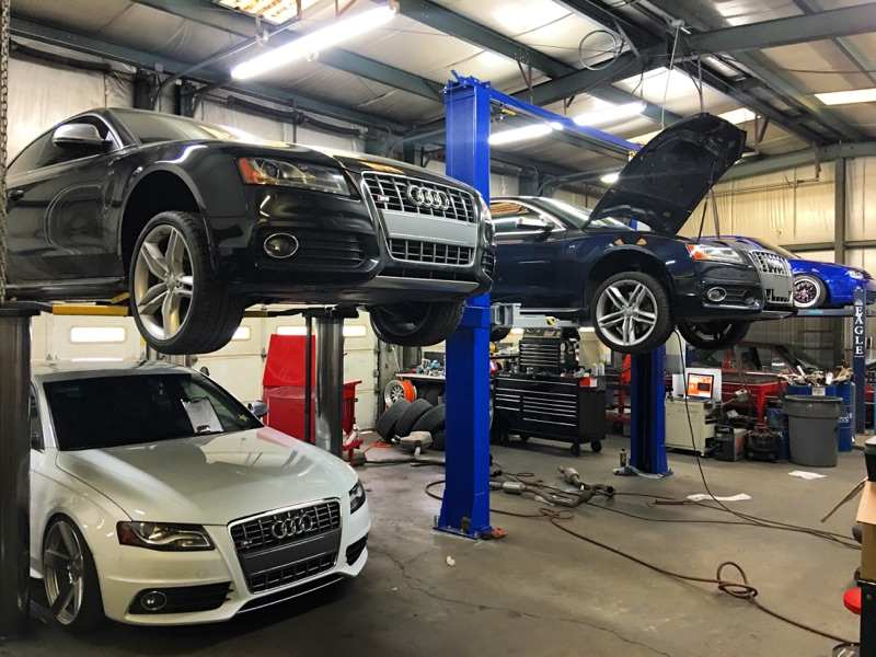 Lots Of SLine Fabrication And Performance Jobs This Week In The - Audi repair charlotte nc