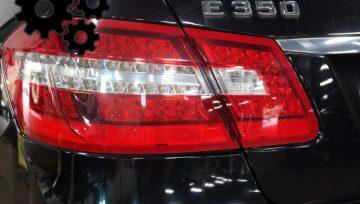 2011 Mercedes Benz E350 Coolant Leak, Frayed Drive Belt
