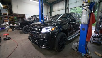 Mercedes GLS63 Performance tuning and service