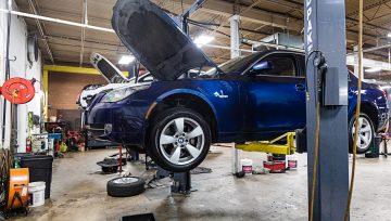 BMW 5-series Oil Leak Repair